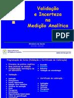 ANVISA - apresentação validação de métodos