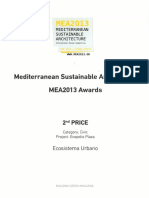13 | MEA2013 Awards 2º PRICE Mediterranean Sustainable Architecture International Design Competition | Ecopolis Plaza | Greece