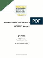 13 | MEA2013 Awards 2º PRICE Mediterranean Sustainable Architecture International Design Competition | Ecopolis Plaza | Greece