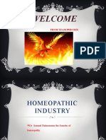Homeopathic Industry