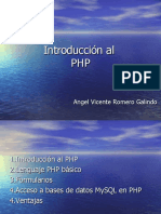 Introduccion Al PHP