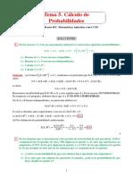Tema 5. Calculo de Probabilidades. Curso 2017_18_SOLUCIONES