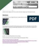 Q-S-001 - Diagrama de Un Motor Stepper y Un PLC