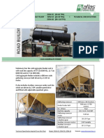 Specifications Double Drum Plant - Export