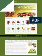 Online Vegetable Store Mini Java Project Screens