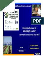 Apresentação Auditor FNDE