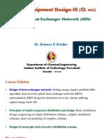 PED-III_Heat Exchanger Networks_AK Golder (1).pdf