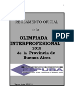 Reglamento interprofecional 2015