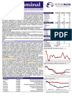 VB Saptamanal 15.04.2019 Inflatia in Accelerare, Prognoza Pe PIB in Ajustare
