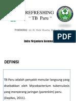 Refreshing - TB Paru