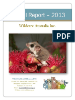 Wildcare Annual Report 2013
