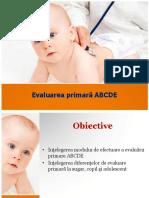 Evaluarea Primara ABCDE in Pediatrie