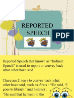 Bing Reported Speech