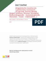 Tekst i Dyskurs Text Und Diskurs-r2011-t4-s185-188