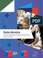 Guía Técnica Para Diseñar Implementar Evaluar y Ajustar Protocolos de Apoyo