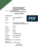 EDUCACIÓN AMBIENTAL Código 480 UNA
