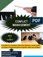 Confict Management at Work