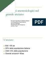 Problemi Anestesiologici Nel Grande Anziano 2