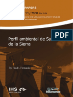 PERFIL AMBIENTAL DE SANTA CRUZ DE LA SIERRA