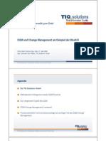 DQM und Change Management am Beispiel der WestLB