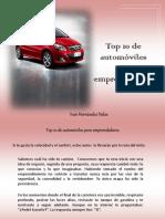 Iván Hernández Dalas - Top 10 de automóviles  para emprendedores