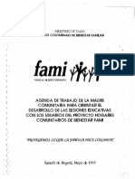 Agenda de trabajo de la madre comunitaria para orientar el desarrollo de las sesiones educativas con los usurarios del proyecto de hogares comunitarios de bienestar FAMI.pdf