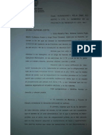 Gullé dictamen reelección intendentes