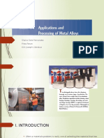 Application and processing of metal alloys.pptx
