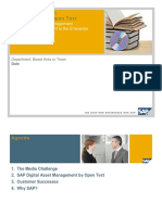 SAP Digital Asset Management by Open Text