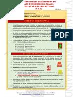 4165_f4 Instrucciones en Caso de Emergencias C.C.I. Centro de Control Interno