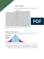 Estimation Parameters