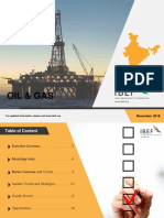 Oil and Gas Nov 2018 IBEF
