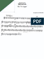 Disney's MOANA - Clarinet 3
