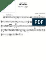 Disney's MOANA - Clarinet 2