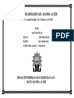 Cover Buku Nilai Smp Muhammadiyah 1 Banda Aceh