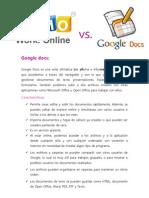 Google Docs y Zoho