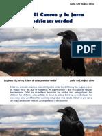 Carlos Erik Malpica Flores - La fábula El Cuervo y la Jarra de Esopo podría ser verdad