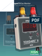 Toxgard II Gas Monitor