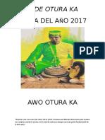 Letra Del Año 2017