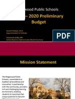FY19-20 Preliminary Budget Presentation-Revised