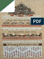 Heirloom Christmas Sampler - The Victoria Sampler [Cross Stitch Chart]
