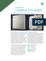 Motorola PTP 54300 & 58300 (Sept2010)