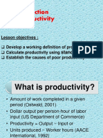 Construction Productivity