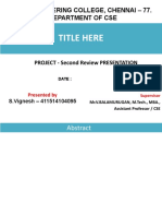 2nd Review Template