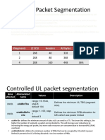 Volte Packet Segmentation