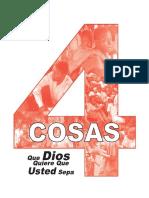 Cuatro Cosas Que Dios Quiere Que Usted Sepa