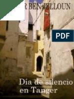 Dia de Silencio en Tanger - Tahar Ben Jelloun