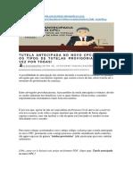 tutelas no DIREITO PREVIDENCIARIO.docx