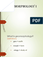 Intro to Geomorphology-P1