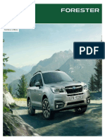 Forester Ph 2019 brochure philippines